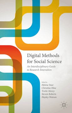 Digital methods for social science by Steven Roberts