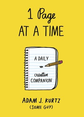 1 Page at a Time by Adam J. Kurtz