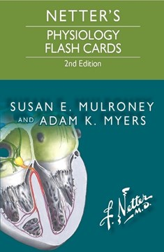Netter's Physiology Flash Cards by Susan Mulroney