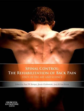 Spine control by Paul W Hodges