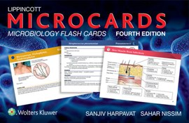 Lippincott Microcards: Microbiology Flash Cards by Sanjiv Harpavat