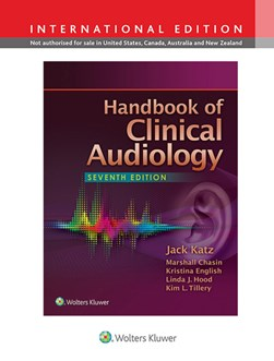 Handbook of clinical audiology by Jack Katz