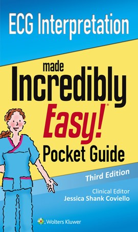 ECG interpretation made incredibly easy! pocket guide by LWW