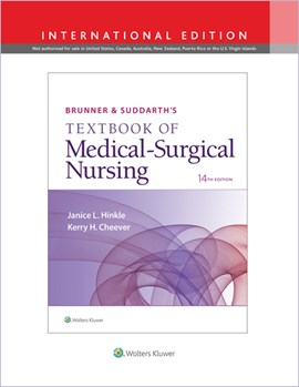 Brunner & Suddarth's textbook of medical-surgical nursing by Janice L Hinkle