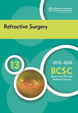 Refractive surgery by M. Bowes Hamill