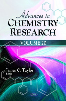 Advances in chemistry research. Volume 20 by James C Taylor