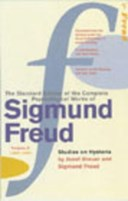 The standard edition of the complete psychological works of Sigmund Freud. Vol. 2 :  (1893-1895). Studies on hysteria