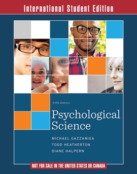 Psychological Science, Fifth International Edition Ebook with InQuizitive and ZAPS folder by Michael Gazzaniga