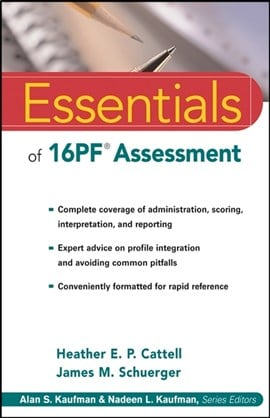 Essentials of 16PF assessment by Heather E. P. Cattell