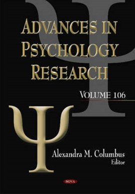 Advances in psychology research. Volume 106 by Alexandra M Columbus