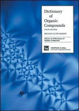 Dictionary of organic compounds. Vol. 11 Second supplement by John Buckingham