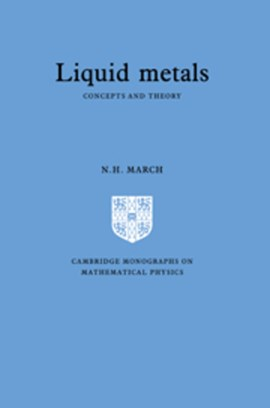 Liquid metals by Norman Henry March