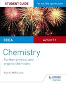 CCEA A Level Year 2 chemistry. Unit 3. Student guide