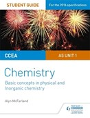 CCEA AS chemistry. Unit 1 Basic concepts in physical and inorganic chemistry