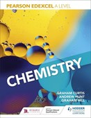 Pearson Edexcel A level chemistry. Year 1 and Year 2