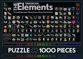 The Elements Jigsaw Puzzle by Nick Mann