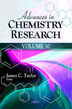 Advances in chemistry research. Volume 30 by James C Taylor