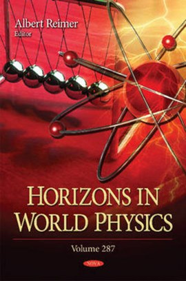 Horizons in world physics. Volume 287 by Albert Reimer