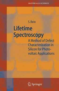 Lifetime spectroscopy by S Rein