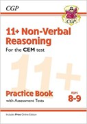 New 11+ CEM Non-Verbal Reasoning Practice Book & Assessment Tests - Ages 8-9 (with Online Edition)