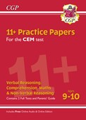 New 11+ CEM Practice Papers - Ages 9-10 (with Parents' Guide & Online Edition)