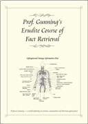 Prof. Gunning's erudite course of fact retrieval