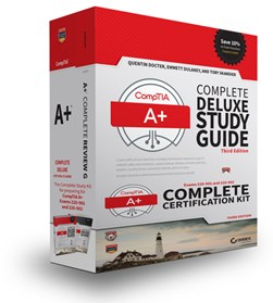 CompTIA A+ complete certification kit by Quentin Docter