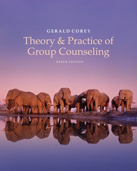 Theory & practice of group counseling by Gerald Corey