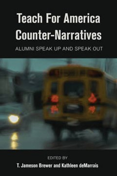 Teach for America counter-narratives by Jameson T. Brewer