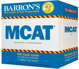 MCAT Flash Cards by Jay B. Cutts