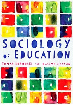 Sociology of education by Tomas Boronski