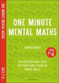 One minute mental maths for ages 7-9