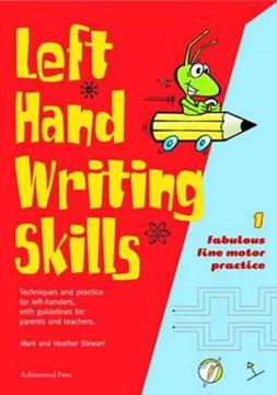 Left hand writing skills 1 Fabulous fine motor practice by Mark Stewart