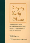 Singing early music