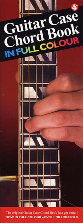 Guitar case chord book by