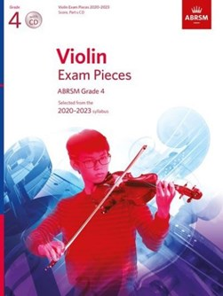 Violin Exam Pieces 2020-2023, ABRSM Grade 4, Score, Part & CD by ABRSM