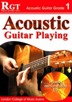 Acoustic guitar playing, grade 1 by Tony Skinner