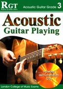 Acoustic guitar playing, grade 3