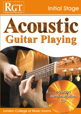 Acoustic guitar playing, initial stage by Tony Skinner