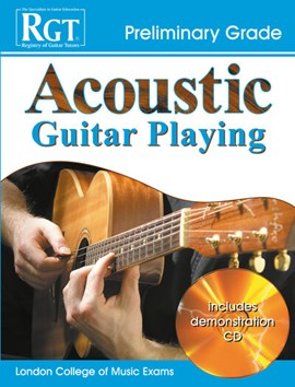 Acoustic guitar playing, preliminary grade by Tony Skinner