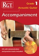 Acoustic Guitar Accompaniment RGT Grade One