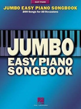 Jumbo Easy Piano Songbook by Hal Leonard Corp