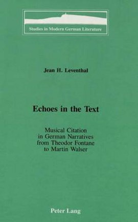 Echoes in the text by Jean H Leventhal