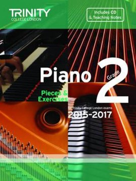 Piano 2015-2017. Grade 2 (with CD) by