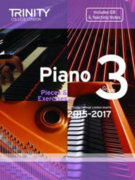 Piano 2015-2017. Grade 3 (with CD) by