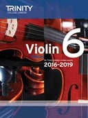 Violin Exam Pieces Grade 6 2016-2019