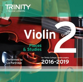 Violin CD Grade 2 2016-2019 by Trinity College London