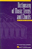 Dictionary of music terms and chords