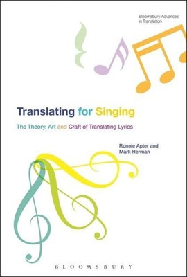 Translating for singing by Ronnie Apter