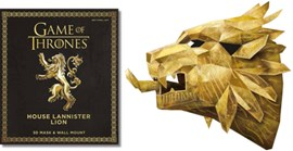 Game of Thrones The House Lannister Lion P/B by Wintercroft
